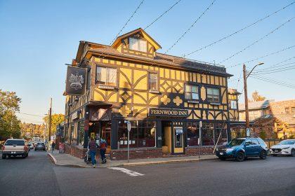 A shot of a local establishment
