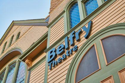 A shot of a local theatre